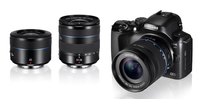 Samsung new NX Lenses